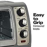 Hamilton Beach Countertop Toaster Oven, Easy