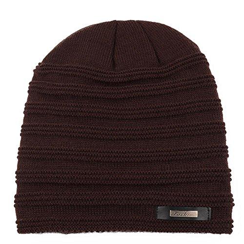 más hace punto El sombrero YANXH el oído nuevo del El caliente al brown del el libre grueso aire el y cuidado casquillo que invierno hombre black otoño guardan dXqYqwz