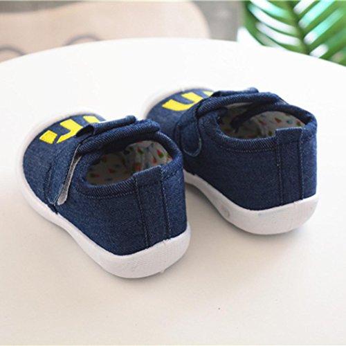 IGEMY - Sandalias de vestir de Malla para niña azul oscuro