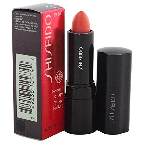 - Shiseido Perfect Rouge Lipstick for Women, No. PK343 Secret, 0.14 oz