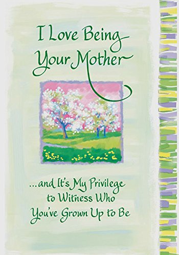 Amazon blue mountain arts i love being your mother sentimental blue mountain arts i love being your mother sentimental greeting card m4hsunfo