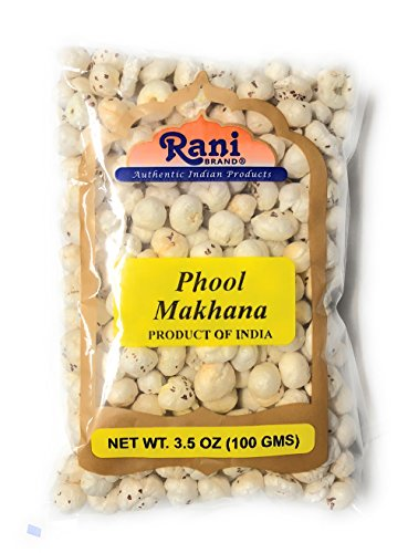 Rani Phool Makhana (Fox Nut/Popped Lotus Seed) 3.5oz