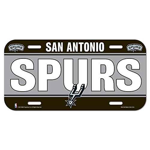 fan products of NBA San Antonio Spurs License Plate