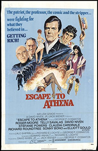 escape-to-athena-1979-original-movie-poster-action-adventure-comedy-dimensions-27-x-41
