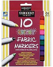 أقلام تلوين قماشية ساطعة عدد 10 من سارجينت آرت 22-1568