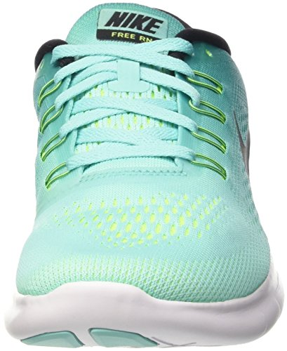 Turquesa Wmns Rn Rio Volt de Mujer Gimnasia Black Turq para Hyper Nike Teal Free Zapatillas S8dSAw