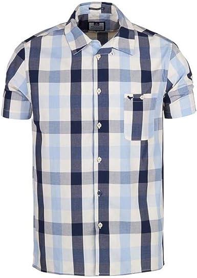 Weekend Offender - Camisa Casual - Manga Corta - para Hombre: Amazon.es: Ropa y accesorios