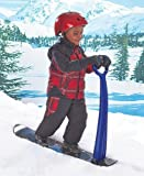 Durable, Sturdy Snow Scooter with Snowboard-type Base, Easy Grip Handle and 200-lb Weight Limit - For Ages 8 and Above by Lakeside