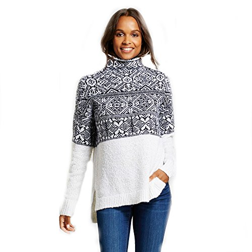 Merona Patterned Pullover Sweater Cream (Large) from Merona