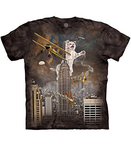 The Mountain King Kitten Adult T-Shirt, Black, Small ()