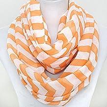 University of Tennessee Volunteers Orange and White Chevron Gameday Scarf