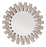OSP Designs Apollo Glass Round Wall Decor, Mirror Review