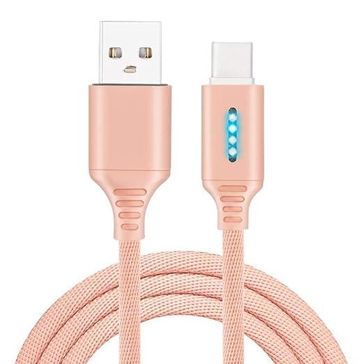 Delisouls Cable Cargador, Smart Inteligente Automático Cable ...