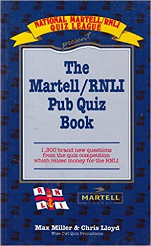 Buy The Martell/RNLI Pub Quiz Book: 1300 Brand New Questions