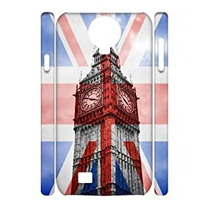 HEHEDE Phone Case Of uk illustration Fashion Style Colorful Painted for Samsung Galaxy S4 I9500
