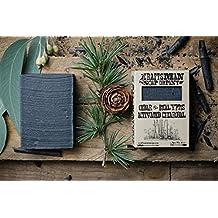 Cedar & Eucalyptus Activated Charcoal Bar Soap. 100% Natural, Handmade & Vegan.