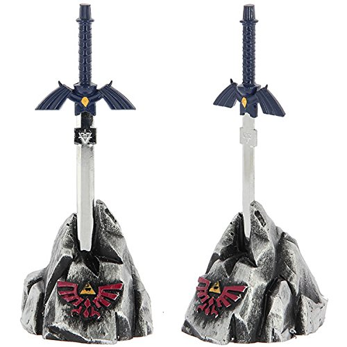 Conjunto para mesa con espada Hylian abrecartas de The Legend Of Zelda Anglo Arms