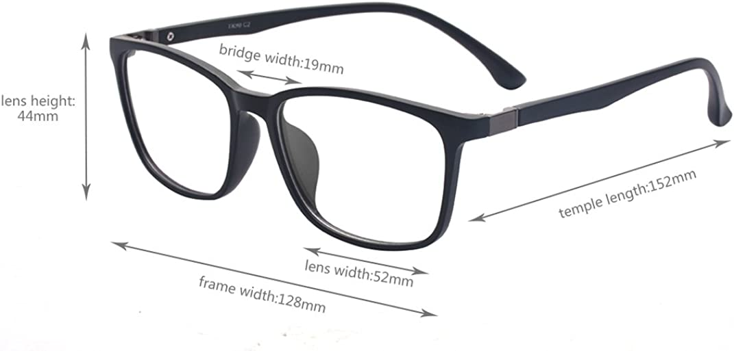 Vintage klare Linse Gl/äser Tony Stark ohne st/ärke brille Platz Rahmen Brillengestell F/ür Mann Frau