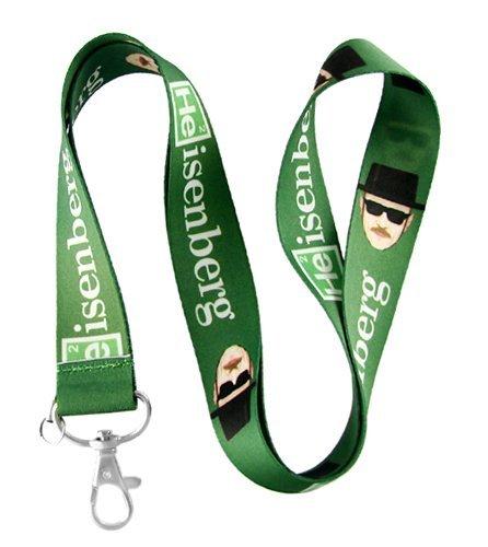 Heisenberg Breaking Bad Verde Cordón llavero titular: Amazon ...