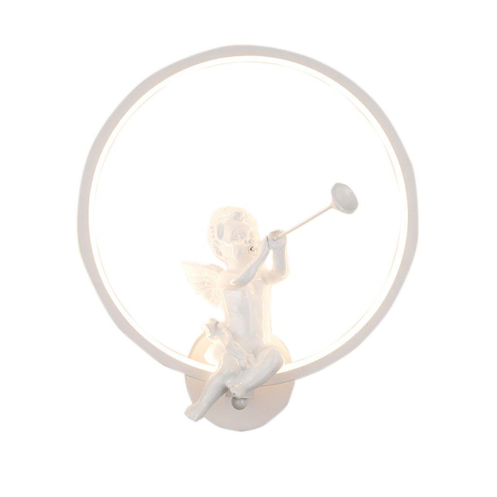 Unbekannt QIQIDEDIAN Wandleuchte Moderne minimalistische Schlafzimmer Nachttischlampe Kreative Cartoon Wandleuchte Warm Romantische Kinderzimmer Wandleuchte (Farbe : C)