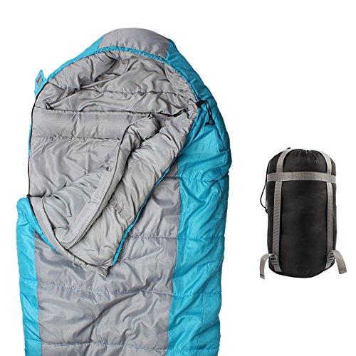 Hippih Comfort Sleeping Bag - Lightweight Portable & Waterproof, Great for Camping, Traveling, Hiking & Outdoor Activities of 4 Seasons