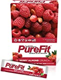 PureFit Gluten-Free Nutrition Bars with 18 grams Protein: Berry Almond Crunch, 2 oz Bars, Pack of 15