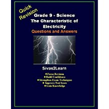 Grade 9 Science: The Characteristics of Electricity - Questions and Answers