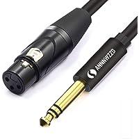 LinkinPerk - Cable XLR hembra de 6,35 mm