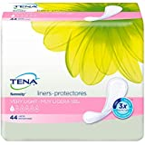 TENA Incontinence Liners for Women, Very Light, Long, 44 Count (Pack of 4)