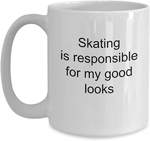 This Is What An Awesome Ice Skater Looks Like Mug Funny Birthday Novelty Gift