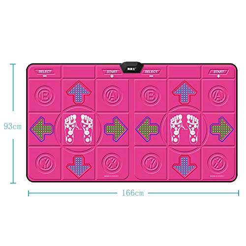 Smart toy Dance Fighter King Dance Mat Double TV Computer Interface Home Running Game Console 0515A by Smart toy (Image #1)