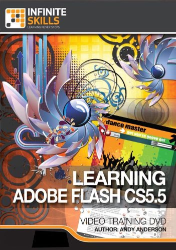 Learning Adobe Flash CS5.5 Training Video [Download]