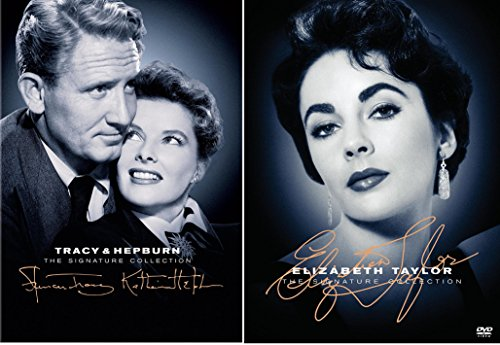 The Elizabeth Taylor + Tracy & Hepburn Signature Collection DVD Pat and Mike / Adam's Rib / Woman of the Year / National Velvet / Father of the Bride / - Collection Velvet Show