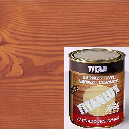 Titanlux Titan Barniz Tinte Madera Teca 750 ml: Amazon.es ...
