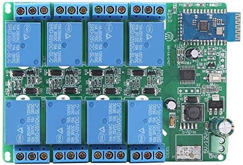 WXQ-XQ 電話のための無線中継、5V 8チャンネルのBluetoothリレーボードリモートコントロールスイッチ