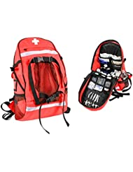 Rothco First Aid/Trauma Backpack, Red