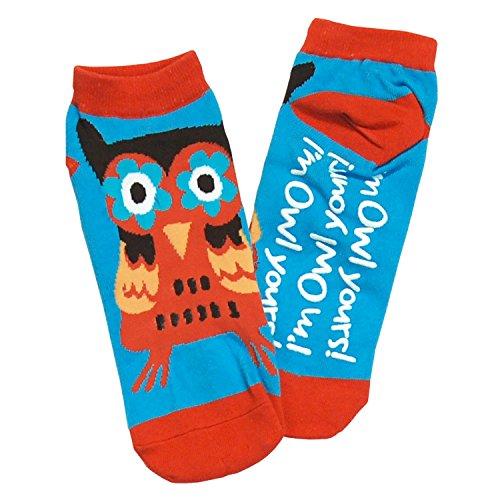 9 Owl 11 Deslizador Adulto Calcetín Yours Lazyone Unisexo Del Im HPnqaa8
