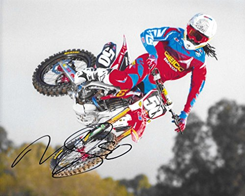 Malcolm Stewart, Supercross, Motocross, Signed, Autographed, 8X10 Photo, a COA with the Facts Photo of Malcolm Signing Will Be Included
