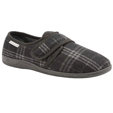 Dunlop - Zapatillas de Estar por casa de Sintético para Hombre: Amazon.es: Zapatos y complementos