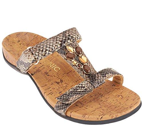 3ea6640353cfef Vionic by Orthaheel Viviana Womens Embellished Sandals (B00WXTUO8E ...