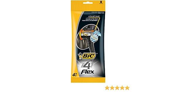 BIC – Juego de 3 fundas de 4 afeitadora corporal Flex 4 (4 hojas ...