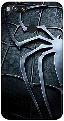 msc half black spiderman logo 3d printed designer hard amazon in