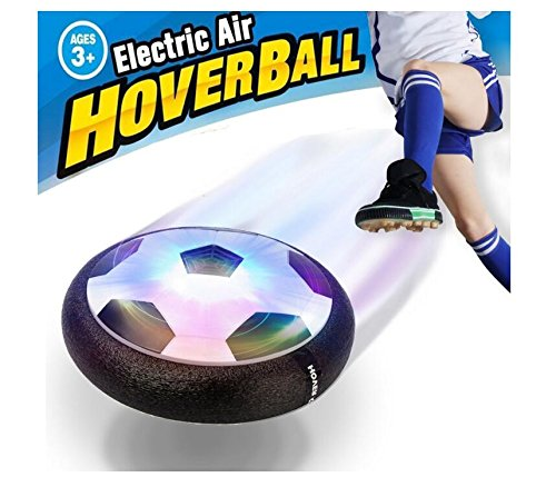 Children's Air Force Football Interactive Football Toys Sports Toys Indoor Outdoor Hovering Ball Games with Bubble Bumpers and LED Lights, Mini Screwdriver Boys and Girls for Birthday and Holiday Gift by ASfeixiang