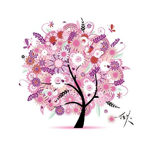Yontree Kreuzstich Stickerei DIY Handarbeit Stickpackung Set vom Baum des Lebens