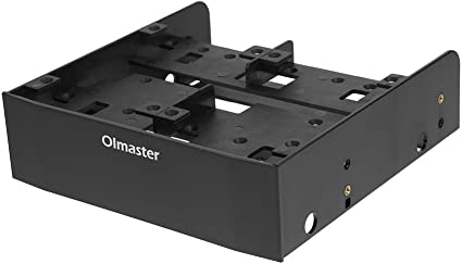 5.25 to 3.5 inches Computer Optical Bay Drive Slot Case Adapter Mounting