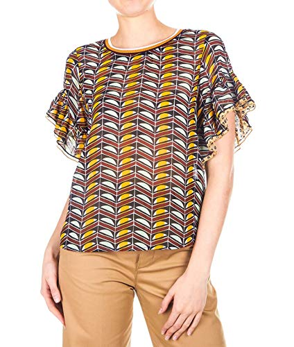 Multicolore Polyester Maison Scotch Blouse Femme 1498069117 SUpqzMVG