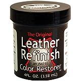 Leather Refinish Color Restorer Dye, Dark Brown