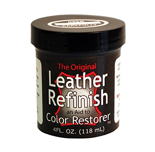 Leather Refinish Color Restorer Dye, Metallic Pewter