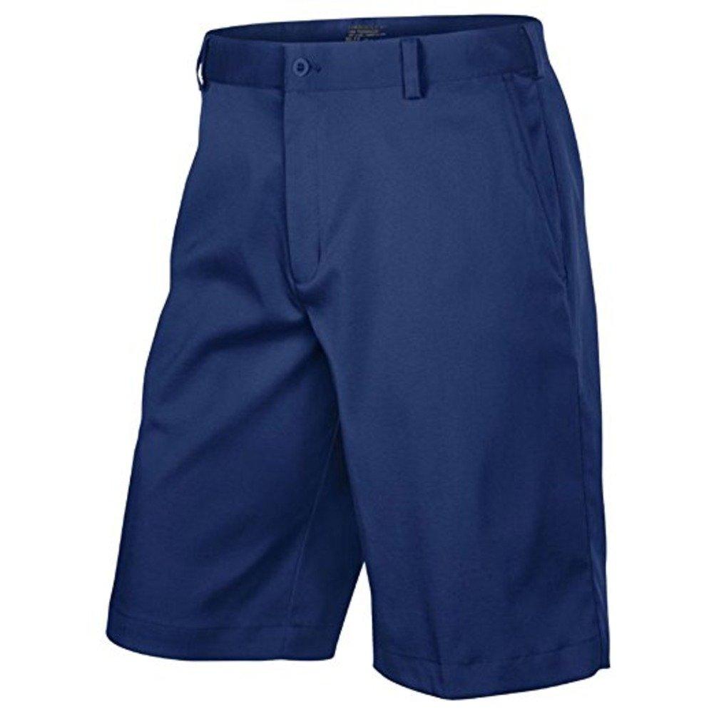 Nike Mens Flat Front Tech Golf Shorts, Navy, 30