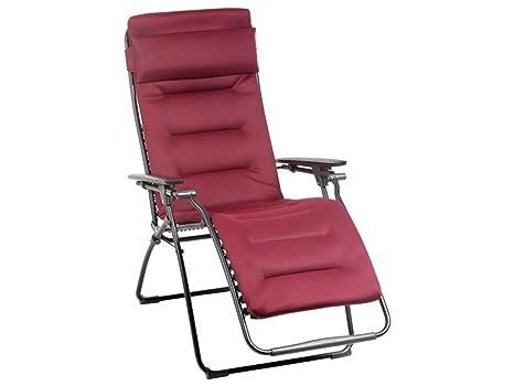 Sedie A Sdraio Imbottite : Xl poltrona relax sole sedia a sdraio imbottita bordeaux la fuma